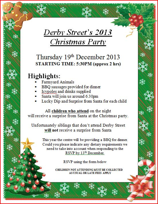 Christmas 2013 Invite