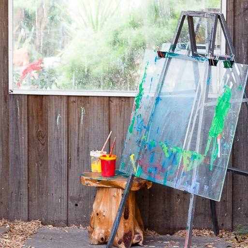 outdoor painting easle